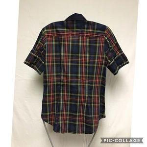The Shirt by Rochelle Behrens Tops - The Shirt by Rochelle Behrens Blue Small Plaid